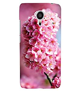 ColourCraft Lovely Flowers Bunch Design Back Case Cover for MEIZU MX5