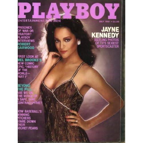 Playboy July 1981 Jayne Kennedy on Cover (nude inside), Mel Brooks/History ...