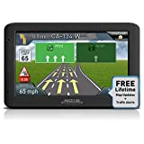 "Magellan Roadmate 5250T-LM 5.0"" Touchscreen Portable GPS Navigation System with Lifetime Maps and Traffic Updates (Certified Refurbished)"