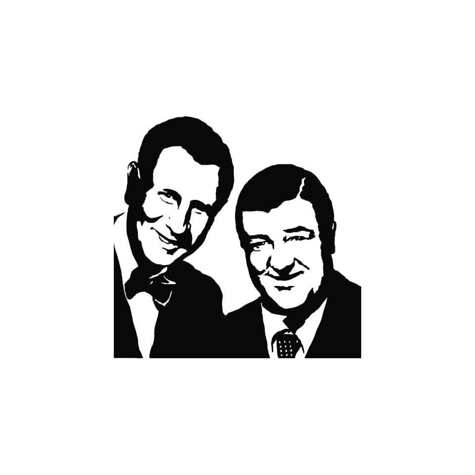 Abbott and Costello Vinyl Die Cut Decal Sticker 5.50
