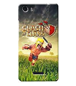 Sai APH Printed Hard Back Cover for Micromax Canvas 5