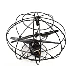 [Present-web] カメラ搭載 iPhone iPad で空からモニタリング 初心者も 空撮に 挑戦できる 3CH搭載 未来型ラジコン 球体ヘリ i-SPhere アイ・スフィア itankの新シリーズ アイ・スフィア が登場!