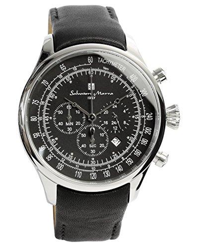 [サルバトーレマーラ] クロノグラフ 腕時計 メンズ 限定モデル イタリアブランド アナログ表示 3気圧防水 SM12127 【雑誌掲載モデル】