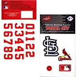 MLB Batting Helmet Decal Kit from Rawlings