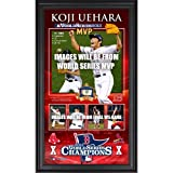 Boston Red Sox 2013 MLB World Series Champions 10'' x 18'' Framed MVP Collage with Game-Used Baseball