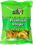 Africa's Finest Plantain Chips Salted 60 g (Pack of 12)