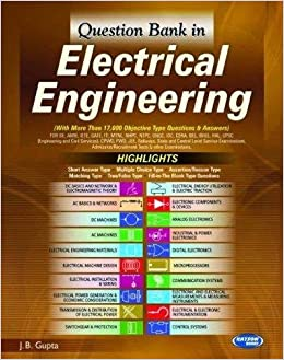 Question Bank In Electrical Engineering 5 Edition Price Comparison At Flipkart Amazon Crossword