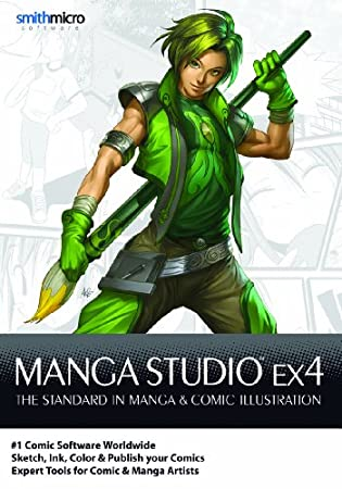 Manga Studio EX 4 for Mac [Download]