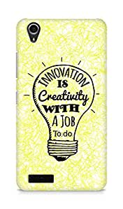 Amez Innovation is Creativity with a Job to do Back Cover For Lenovo A3900