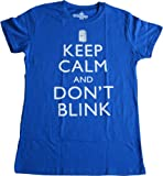Ripple Junction Doctor Who Keep Calm and Don't Blink Juniors T-shirt