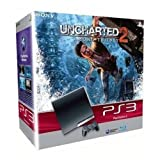 echange, troc Console PS3 Slim (250 Go) + Uncharted 2 : Among Thieves