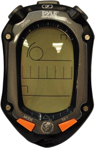 Pyle PFSH2 Handheld Digital Fishing/Hunting Watch with Tide, Altimeter, Barometer, Thermometer and Hygrometer