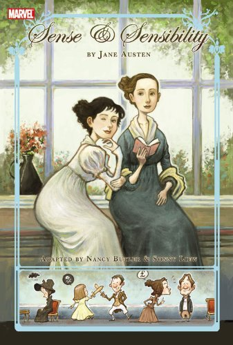 Kids on Fire: Jane Austen Graphic Novels