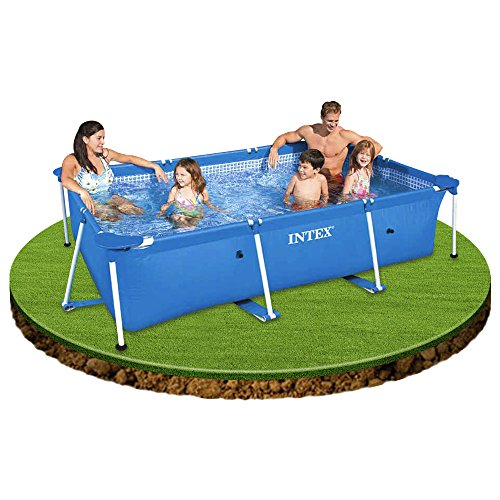 Intex piscina frame rettangolare 300x200x75 cm piscine for Piscine intex amazon