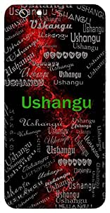 Ushangu (Lord Shiva) Name & Sign Printed All over customize & Personalized!! Protective back cover for your Smart Phone : Samsung Galaxy S5mini / G800