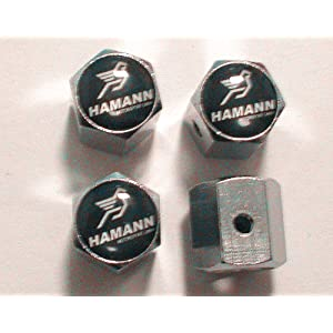 BMW Hamann Anti-theft Car Wheel Tire Valve Stem Caps