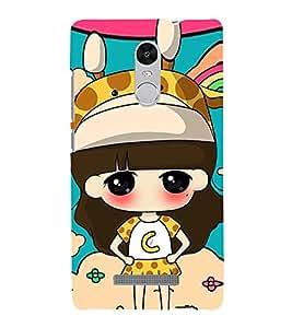 Champion Girl 3D Hard Polycarbonate Designer Back Case Cover for Xiaomi Redmi Note 3 :: Xiaomi Redmi Note 3 (3rd Gen)