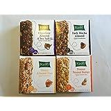 Kashi Variety Pack Granola Bars Bundle Of 4 Flavors: Trail Mix; Chocolate Almond & Sea Salt; Honey Almond Flax...