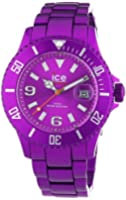 ICE-Watch - Montre Mixte - Quartz Analogique - Ice-Alu - Purple - Unisex - Cadran Violet - Bracelet Aluminium Violet - AL.PE.U.A.12