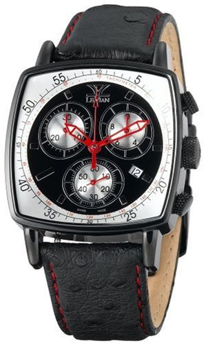Le Vian SoHo Black Chronograph Watch #ZAG 45 - Buy Le Vian SoHo Black Chronograph Watch #ZAG 45 - Purchase Le Vian SoHo Black Chronograph Watch #ZAG 45 (Le Vian, Jewelry, Categories, Watches, Men's Watches, By Movement, Swiss Quartz)