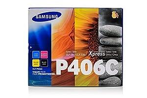 4x Original Toner Samsung CLP-360N 365W CLX-3300 3305FN 3305FW CLT-K406S CLT-C406S CLT-Y406S CLT-M406S