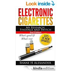 Electronic Cigarettes - My Research Findings and Switch
