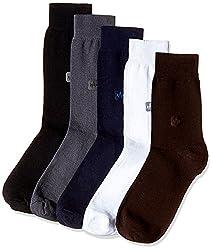 Arrow Men's Knee-high Socks (Pack of 5) (8904135548111_Multicoloured)