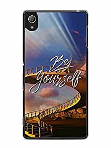 YuBingo Be Yourself Designer Mobile Case Back Cover for Sony Xperia Z4