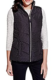 Padded & Spotted Gilet with Stormwear� [T62-0703K-S]