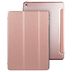 iPad Pro 9.7 inch Case, iPad Pro 9.7 Case, ESR Smart Case Cover with Trifold Stand and Magnetic Auto Wake & Sleep Function for Apple iPad Pro 9.7 inch 2016 Release Tablet (Rose Gold)