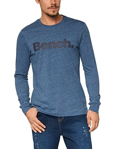 bench-mens-long-sleeve-corp-tee-t-shirt-blue-dark-navy-blue-marl-large