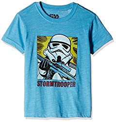 Fox Boys' T-Shirt  (Turquoise Melange_8 years_337407)
