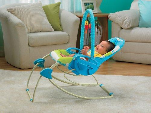Fisher-Price modelo P6946 hamaca bebe automatica pajaritos - 9