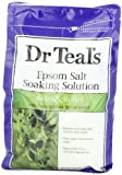 Dr. Teals Epsom Salt Soaking Solution with Eucalyptus Spearmint, 48 Ounce