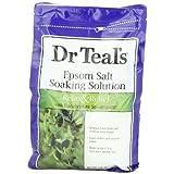 Dr. Teal's Epsom Salt Soaking Solution with Eucalyptus Spearmint, 48 Ounce ~ Dr. Teal's