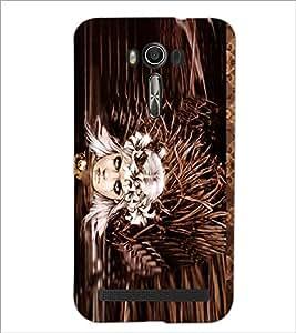 PrintDhaba Fantasy Girl D-5667 Back Case Cover for ASUS ZENFONE 2 LASER ZE550KL (Multi-Coloured)
