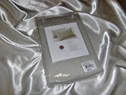 "Martha Stewart Collection ""Regalia"" Matelasse Sham, Standard Matelasse Slate"