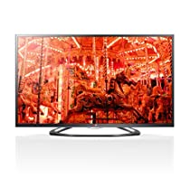 LG Electronics 60GA6400 60-Inch Cinema 3D 1080p 120Hz LED-LCD HDTV with Google TV and Four Pairs of 3D Glasses