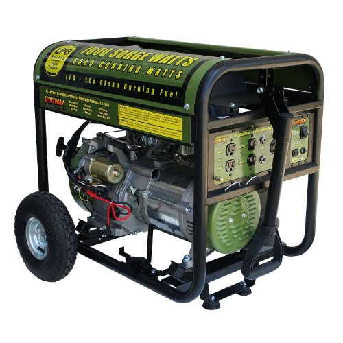 Sportsman GEN7000LP 7000-Watt 13-HP OHV Propane-Powered Portable Generator