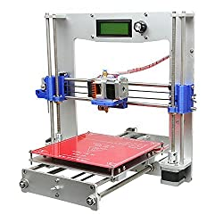 Geeetech Prusa Reprap Aluminum I3 DIY LCD filament 3D Printer support 5 materials +1KG free PLA filament