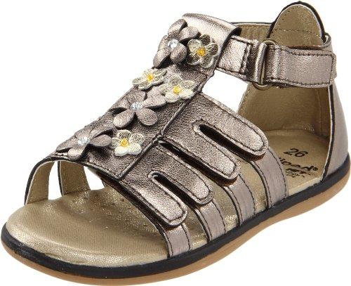 Pediped Flex Violet Sandal (Toddler/Little Kid),Violet Bronze,24 Eu (7.5-8 M Us Toddler) front-1058029