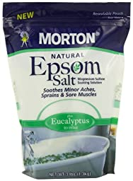 Morton Epsom Salt, Eucalyptus, 3 Pound