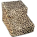 Pet Gear Soft Step II Pet Stairs, 2-step/for cats and dogs up to 150-pounds, Cocoa