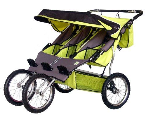 Bebe Love Triple Jogging Stroller