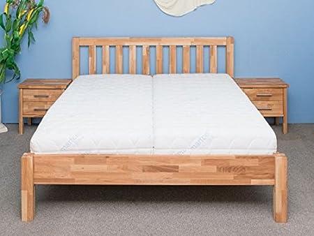 Doppelbett Ben Eiche massiv, geölt 160 x 200 cm