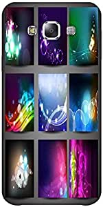 Snoogg Creative Abstract Background Set Solid Snap On - Back Cover All Around...