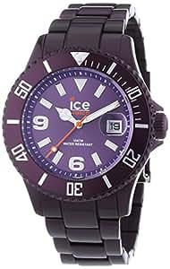 ICE-Watch - Montre Mixte - Quartz Analogique - Ice-Alu - Deep purple - Unisex - Cadran Violet - Bracelet Aluminium Violet - AL.DP.U.A.12