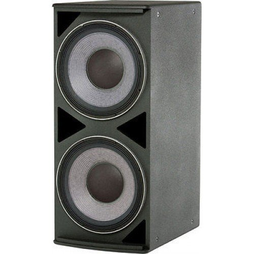 "New Jbl | Ae Series, Medium Power Subwoofer System, Asb4128 With Dual 18"" Low Frequency Drivers And 30 Hz - 1 Khz Frequency Range - Black"