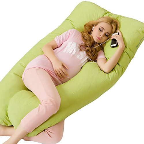 buy Multifunction Cozy Comfort Total Body Support Pregnancy Maternity Pillow , green (good quality) for sale