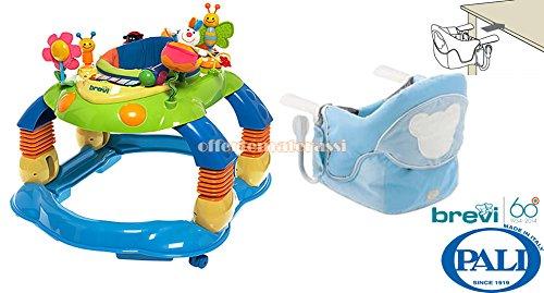 Brevi-giocagiro-Zentrum-Aktivitten-Lauflernhilfe-Schaukel-Kindersitz-Pali-New-Age-hellblau